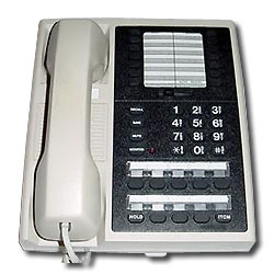 Vertical-Comdial 8 Line Monitor Phone