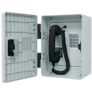 GAI-Tronics 256 Series Outdoor Phone with Polyester Enclosure