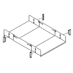 Southwest Data Products Four Post Rack Adjustable Equipment Shelf