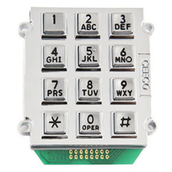 Ceeco Stud Mount Alphanumeric 1 of 12 Format Output Keypad