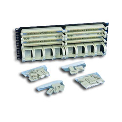 Panduit® Pan-Punch Category 5e 19in. Rack Mount Panel Kit