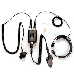Pryme Heavy Duty Throat Mic for Kenwood Radios