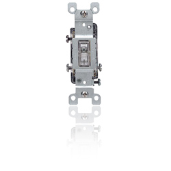 Leviton Quickwire and Side Wired 3-Way Illuminated Toggle