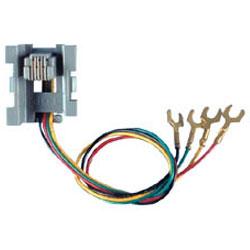 Allen Tel 6-Wire 6-Position Modular Jack