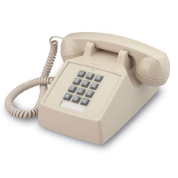 ITT Cortelco 2500 Series Single-Line Desk Phone