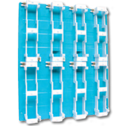 Suttle Backboards with 8 Mounts and with 400 Pair Termination