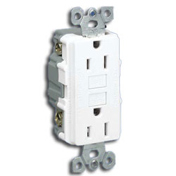 Panduit® 20A Rectangular Surge Suppression Electrical Outlet