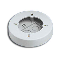 Panduit® Single Gang two-Piece Screw Together Round Outlet Box