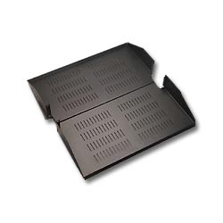 ICC 20 Inch Deep Vented Rack Shelf, 2 RMS