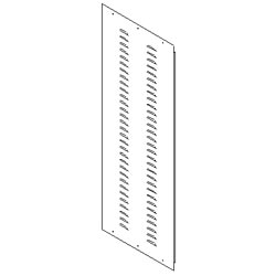 Southwest Data Products Series 2000 Louvered Side Panel 42U
