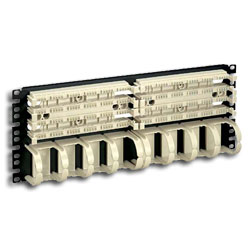 Panduit® Pan-Punch Category 5e 19in. Rack Mount Panel