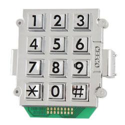 Ceeco 2500 Mount Large Number Keypad