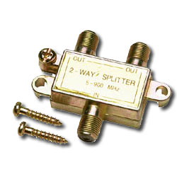 Allen Tel Coaxial Splitter - 2 Way