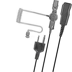 Pryme Medium Duty Acoustic Tube Surveillance Kit for Cobra, Icom, Maxon, Midland, and Yaesu Radios