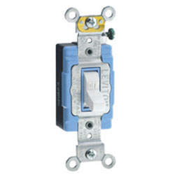 Leviton Side Wired Toggle 120/277V AC Quiet Switch