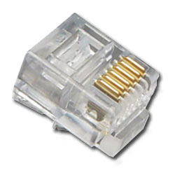 ICC 6 Position/6 Conductor Modular Plug