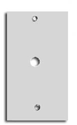 Channel Vision Wallplate with Connector