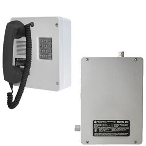 GAI-Tronics Intrinsically-Safe (I.S.) Telephone with Isolation Barrier Unit