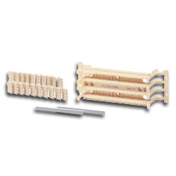 Hubbell 110 Field Termination Kit Category 5e 50 pair 4 pair Blocks