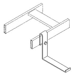 Southwest Data Products L Bracket for Cable Runway