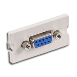 Hubbell Infin-e-Station Module - 9-pin F/F Gender Changer