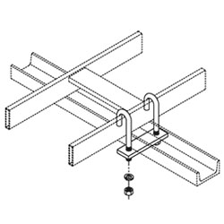 Chatsworth Products J-Bolt Kit, Auxiliary Framing Channel/Runway