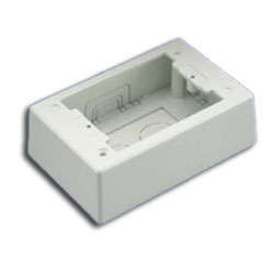 Panduit® Single Gang Two-Piece Screw Together Outlet Box