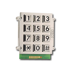 Ceeco Large Number Keypad with 8 Pin Header