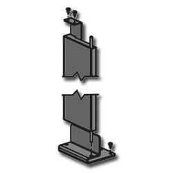 Panduit® NetFrame Single Hinged Metal Door
