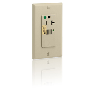 Leviton Hospital Grade, Surge Single with Indicator Light & Audible Alarm