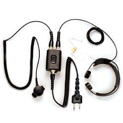 Pryme Heavy Duty Throat Mic for Cobra, Icom, Maxon, Midland, and Yaesu Radios