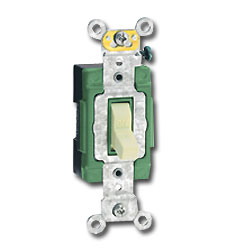 Leviton Single Pole Pilot Light Switch