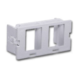Hubbell Wiremold® Style Module, 2-Port