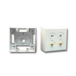 ICC Double Gang Faceplate Mounting Box