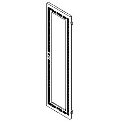 Southwest Data Products Series 2000 Vented Door with Solid Insert 23U