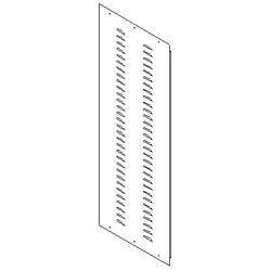 Southwest Data Products Series 2000 Louvered Side Panel 37U