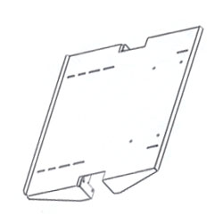 Chatsworth Products Adjustable Monitor Shelf without Tie Down Kit