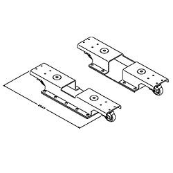 Chatsworth Products Mid-Size Rack Dolly