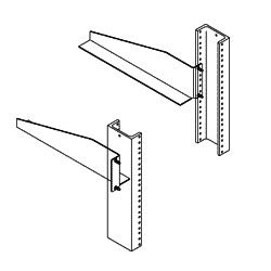 Chatsworth Products Equipment Support Bracket