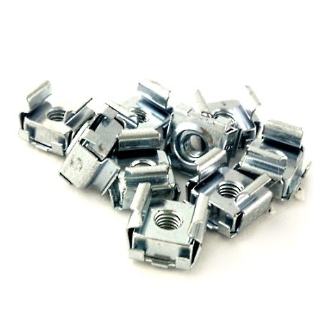 Chatsworth Products 10-32 Cage Nuts, Zinc
