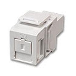 Leviton QuickPort Singlemode Simplex SC Adapter Module, Zirconia Ceramic