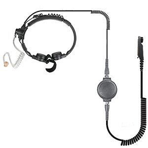Pryme Heavy Duty Throat Mic for Kenwood and Relm Radios