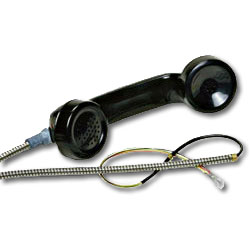 Allen Tel Complete Handset Assembly for Coin Telephone Sets