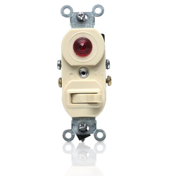 Leviton Single-Pole Switch/Pilot Light