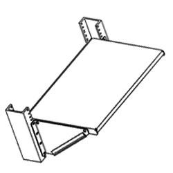 Chatsworth Products Multi-Purpose Three Piece Shelf