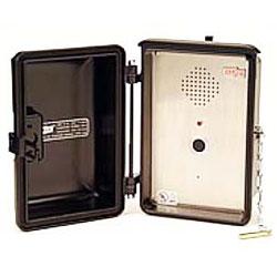 Ceeco Weatherproof Emergency Speakerphone with No Dial for Low Power