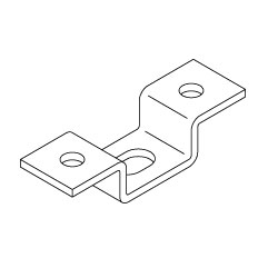 Chatsworth Products Ceiling Support Bracket
