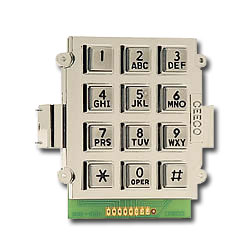 Ceeco Bracket Mount Alphanumeric Keypad