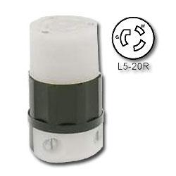 Leviton 20 Amp 125V Locking Connector