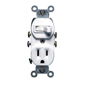 Leviton Single-Pole Switch/ Combination Receptacle